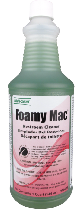 Multi Clean Foamy Mac Restroom Cleaner