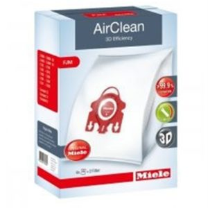 Miele AirClean 3D Efficiency FilterBags Type FJM 4Pk