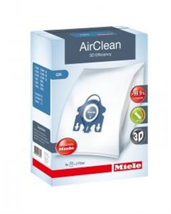 Miele AirClean 3D Efficiency FilterBags Type GN 4Pk