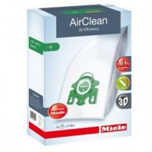 Miele AirClean 3D Efficiency FilterBags Type U 4Pk