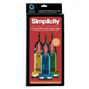 Simplicity Synchrony S30 HEPA cloth bags 6Pk