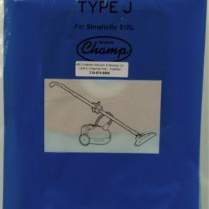 Simplicity Type J paper bags 6Pk