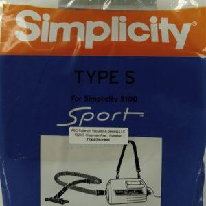 Simplicity Type S paper bags 6Pk