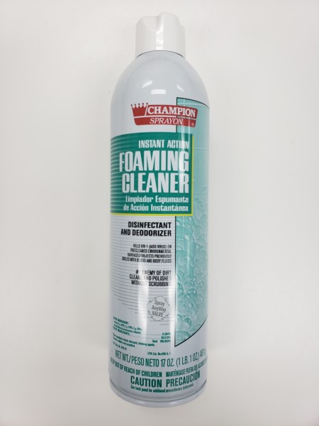 Champion Foaming Disinfectant Cleaner