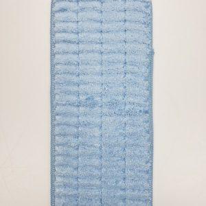 Microfiber Scrubbing Wet Mop 13in Blue