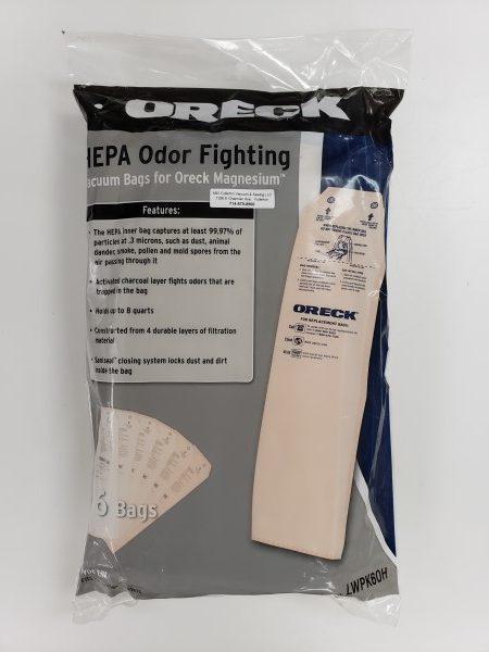 Oreck Magnesium HEPA Cloth bags 6Pk