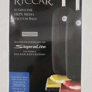 Riccar SupraLite R10 HEPA cloth bags 6PK