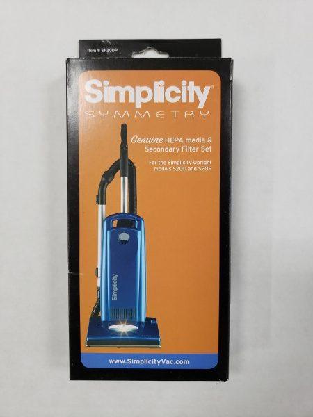 Simplicity S20D & S20P HEPA filter set