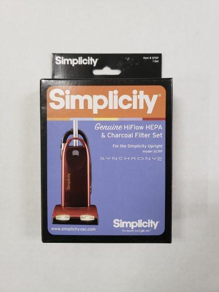 Simplicity SCRP HEPA filter set