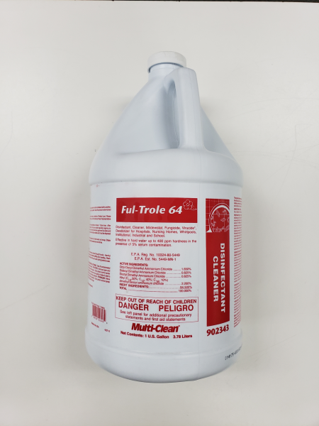 Multi-Clean Ful-Trole disinfectant