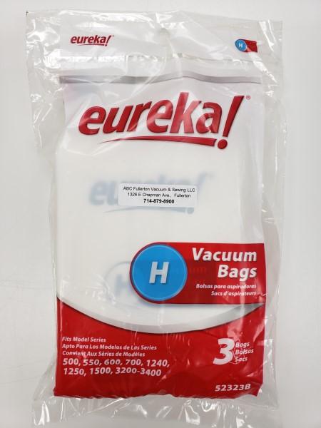 Eureka Type H bags 3Pk