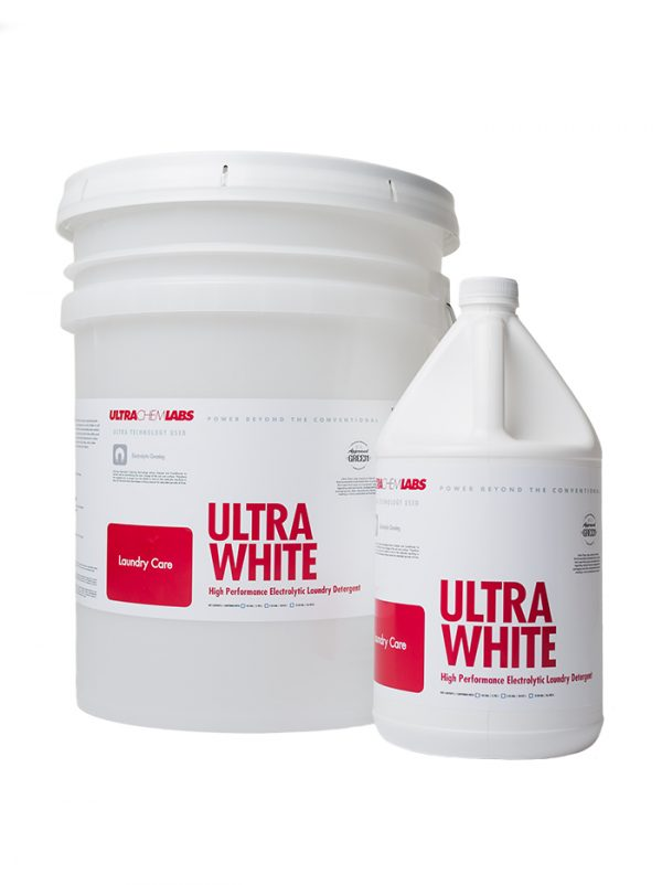 UCL Ultra White Electrolytic Laundry Detergent